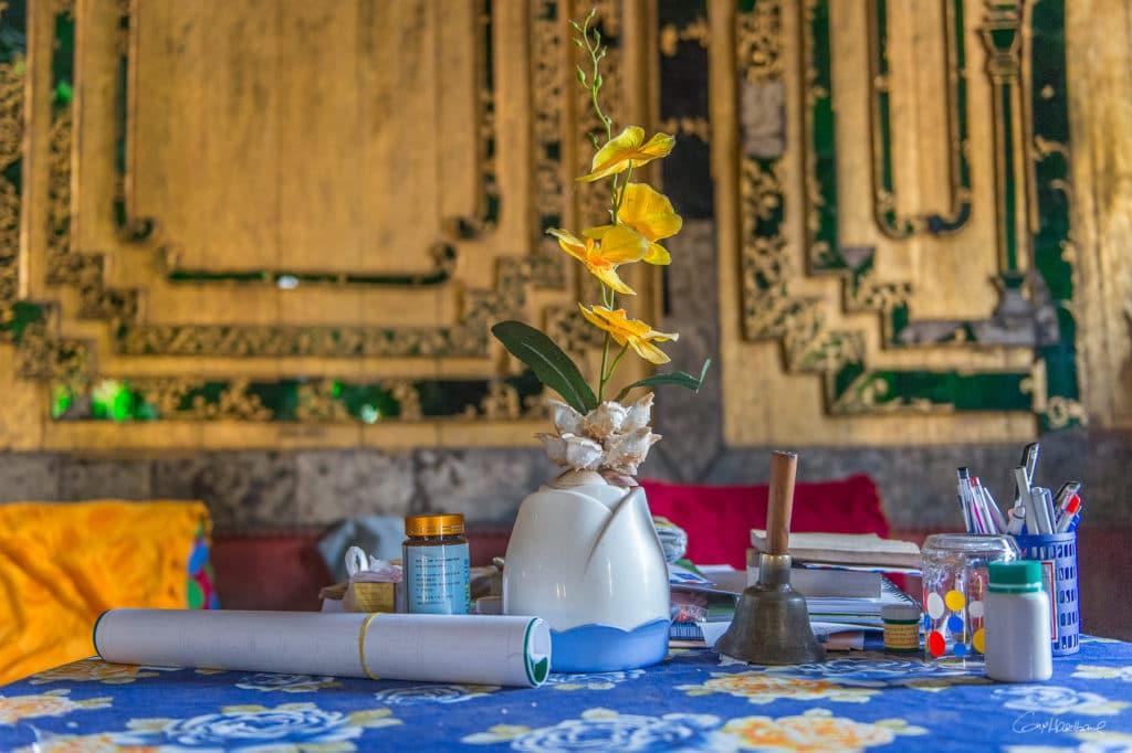 Shwe Yan Pyay monastery -(région lac inle)