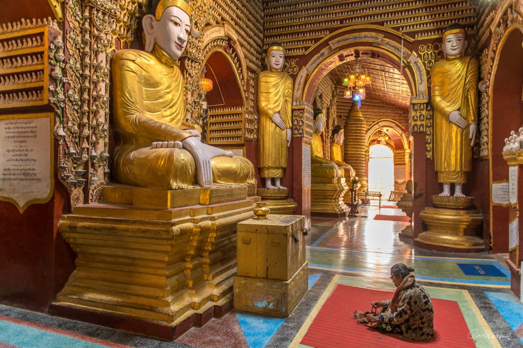 Temple Tanboddhay près de Monywa