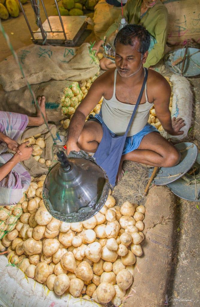 Kolay market Calcutta Inde