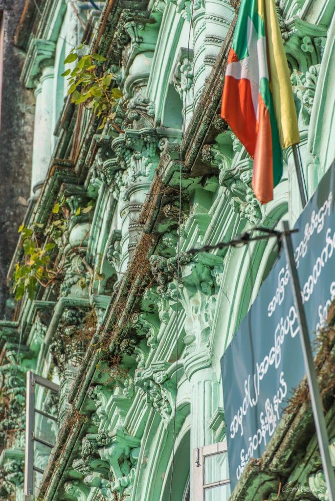 Ancien batiment colonial Yangon