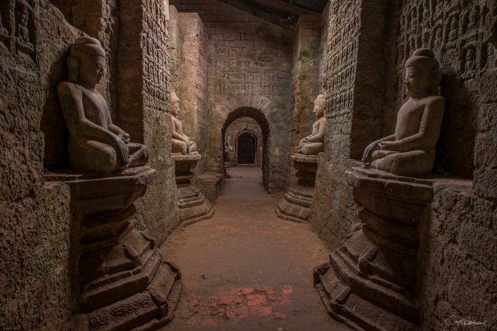 Temple Ko Thaung Mrauk-U