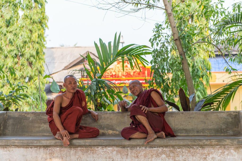 Monastère de Moulmein - Etat Môn