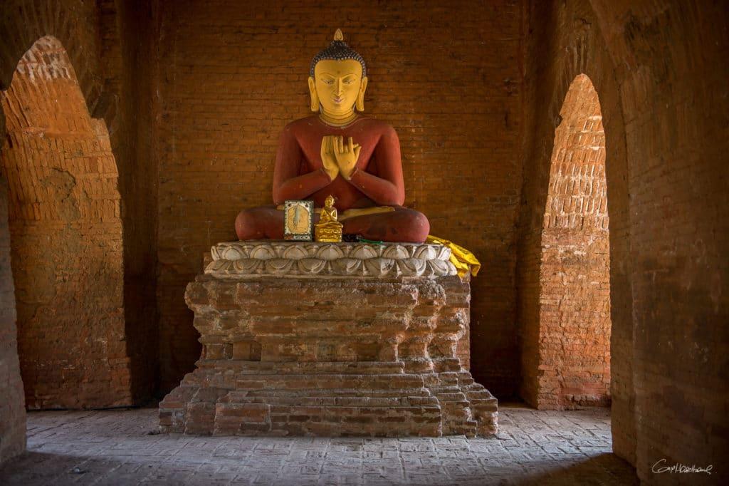 Bouddha Temple de Bagan